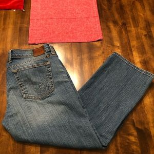 Lucky Brand   Cropped Sweet N Cropped Size 8